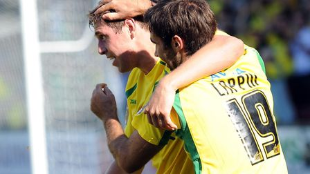 Former Norwich City pair Grant Holt and Simon Lappin have signed for King's Lynn Town. Picture: Andr
