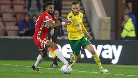 Tom Trybull has been a revelation at Norwich since arriving on a free transfer in the summer. Pictur
