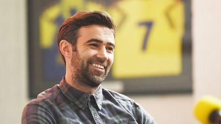 Former Norwich City star Simon Lappin has signed for King's Lynn Town. Picture: Ian Burt