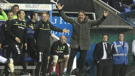Daniel Farke's Norwich City return to action against Hull City. Picture: Paul Chesterton/Focus Image