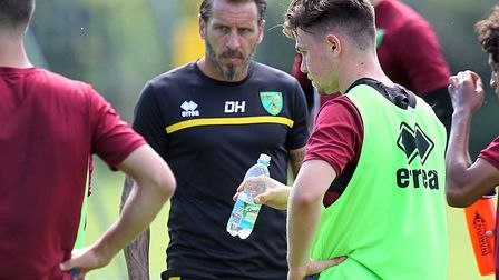 Darren Huckerby took on a role working with Norwich City Under-23s head coach Matt Gill during the s