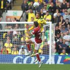 Tom Trybull in typically combative action for the Canaries. Picture: by Paul Chesterton/Focus Images