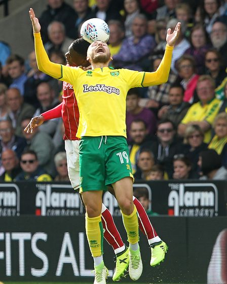 Tom Trybull is hitting the heights for Norwich. Picture: Paul Chesterton/Focus Images Ltd