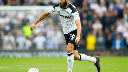 Joe Ledley in action for Derby. Picture: Nick Potts/PA