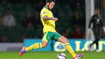 Jacob Butterfield in action during a Capital One Cup match at Carrow Road. Picture: Paul Chesterton/