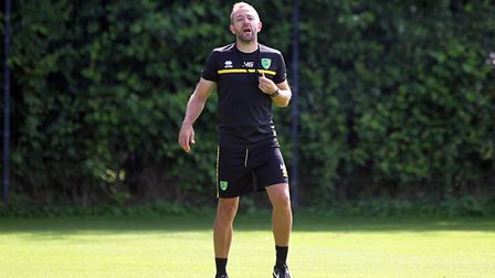 Matt Gill takes his Norwich City Under-23s side to Fulham on Friday evening. Picture: Paul Chesterto