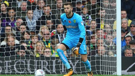 Angus Gunn has grabbed his first team chance at Norwich City. Picture: Paul Chesterton/Focus Images