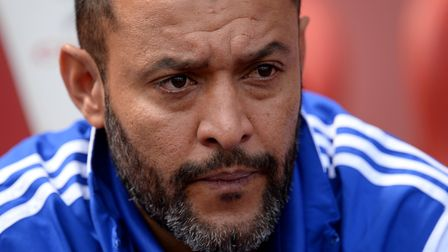 Wolves' boss Nuno Espirito Santo is building an attacking side on the road. Picture: PA