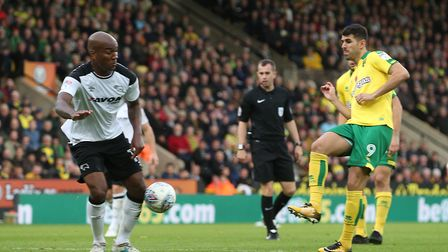 Nelson Oliveira misses out with a calf injury. Picture: Paul Chesterton/Focus Images Ltd