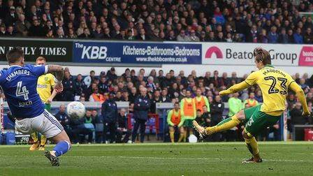James Maddison scored the only goal as City won at Ipswich.Picture: Paul Chesterton/Focus Images Ltd