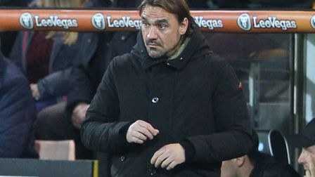 Daniel Farke admitted Wolves were too good for his side at Carrow Road. Picture: Paul Chesterton/Foc