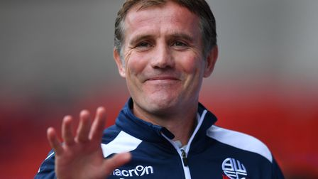 Bolton manager Phil Parkinson. Picture: Anthony Devlin/PA