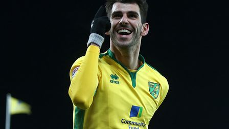 Nelson Oliveira is City's top scorer in the league, with five goals in 11 games. Picture by Paul Che