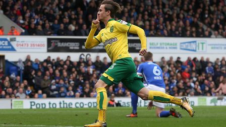 James Maddison's derby winner at Ipswich was one of the highlights of the season for Norwich City. P