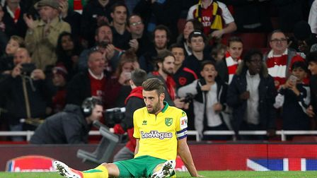 Ivo Pinto digests Norwich City's extra-time defeat at Arsenal in the last 16 of the Carabao Cup. Pic