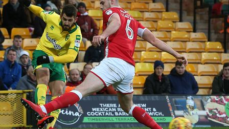 Nelson Oliveira set up Josh Murphy's Norwich City opener - but they had to settle for a 1-1 draw at