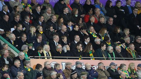 Wonder what the Norwich board think about entertainment levels? Picture: Paul Chesterton/Focus Image