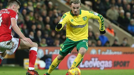 James Maddison has spoken to the media ahead of Norwich City's trip to Nottingham Forest. Picture by
