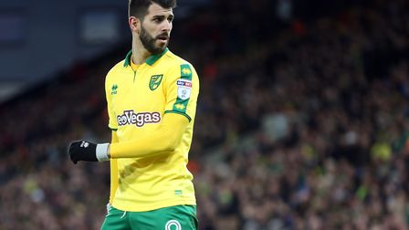 Norwich City striker Nelson Oliveira is set to come up against one of his former clubs, when the Can