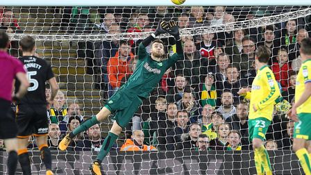 Angus Gunn is confident Norwich can get their home form back on track. Picture by Paul Chesterton/Fo