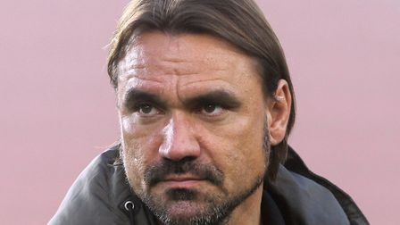 Daniel Farke is preparing his team for today's Carrow Road battle with Barnsley. Picture: Paul Ches