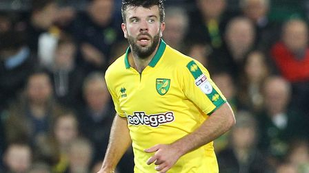 Grant Hanley makes just the second start of his Norwich City career today. Picture by Paul Chesterto