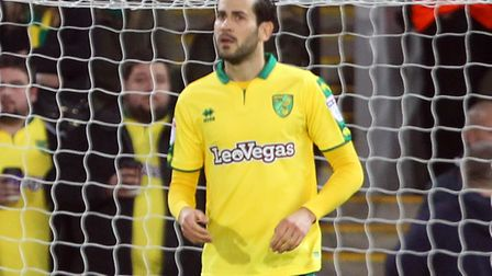 Mario Vrancic looks dejected after Barnsley's equaliser at Carrow Road. Picture by Paul Chesterton/F