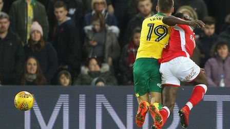 Tom Trybull was among the Norwich City players who looked a long way from fresh in their 1-1 draw wi