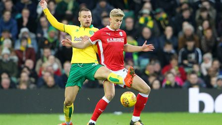 Tom Trybull suffered a back problem against Barnsley. Picture: Paul Chesterton/Focus Images Ltd