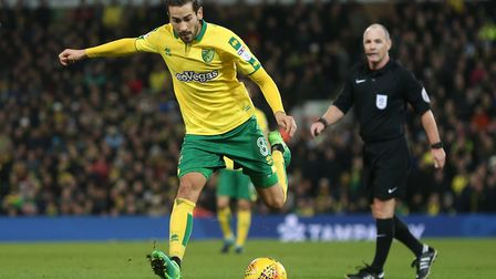 Mario Vrancic can count on the support of Norwich City head coach Daniel Farke. Picture: Paul Cheste