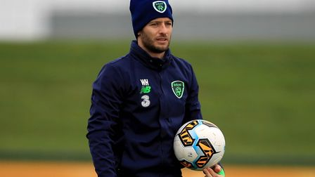 Wes Hoolahan is in contention to start for Ireland against Denmark in their World Cup play-off secon
