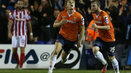 Cameron McGeehan went on to impress at Luton Town following his departure from Norwich City, includi