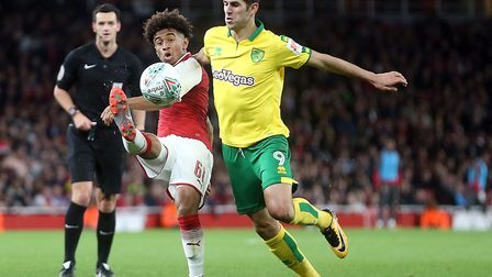 Nelson Oliveira is back in full training with Norwich City. Picture by Paul Chesterton/Focus Images