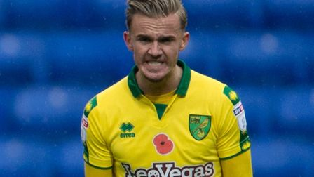 James Maddison faces a late fitness test ahead of City's game against Barnsley. Picture by Russell H