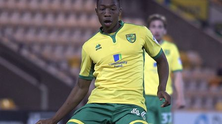 Ebou Adams is also on loan at Shrewsbury from Norwich. Picture by Matthew Usher/Focus Images Ltd