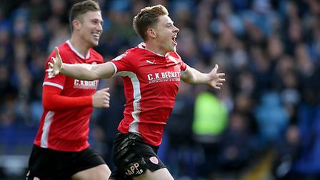 Barnsley's Harvey Barnes is a danger this afternoon. Picture: Richard Sellers/Empics Sport