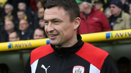 Barnsley boss, and former Canary, Paul Heckingbottom. Picture: Paul Chesterton/Focus Images Ltd