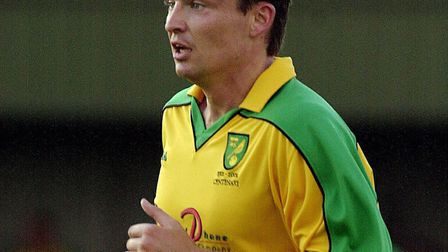 Paul Heckingbottom made 16 appearances for Norwich during the 2002-03 season. Photo Simon Finlay