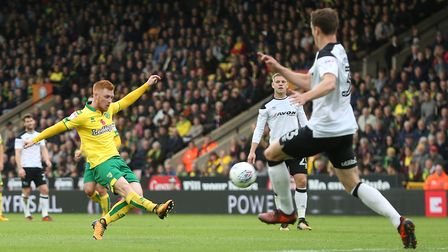 Harrison Reed admits Norwich City need to sharpen up in front of goal. Picture: Paul Chesterton/Focu