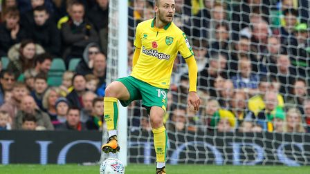 Tom Trybull has played a key role in the Canaries' march to four consecutive away league wins. Pictu