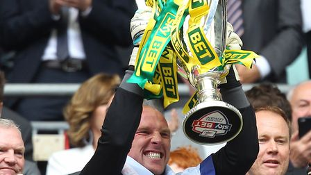John Ruddy - a key part of City's success in recent years before his exit in the summer. Picture: Pa