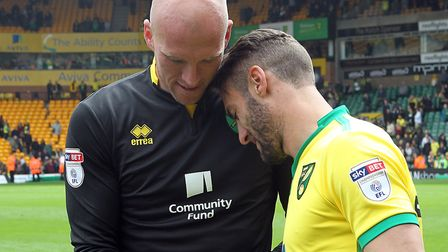 John Ruddy makes his first competitive return to Norwich City on Tuesday. Picture: Paul Chesterton/F