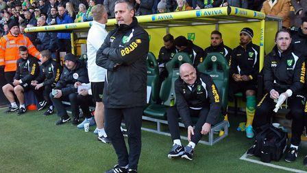 Neil Adams during his time as Norwich City boss. Picture: Paul Chesterton/Focus Images Ltd