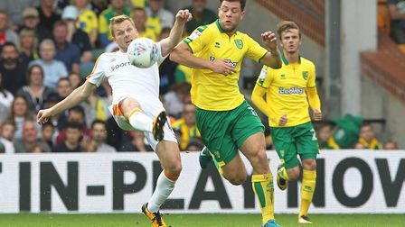 Norwich City midfielder Yanic Wildschut is up for the challenges ahead. Picture: Paul Chesterton/Foc