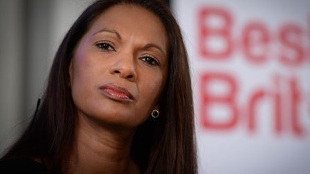 Gina Miller at the launch of the Best for Britain campaign,