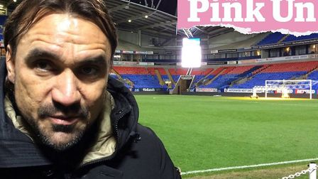Norwich City head coach Daniel Farke speaks following his side's Championship defeat at Bolton Wande