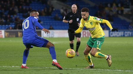 Josh Murphy has shown glimpses of his potential this season. Picture: Paul Chesterton/Focus Images L