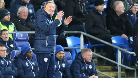 Cardiff City manager Neil Warnock had a 69th birthday to enjoy against Norwich City. Picture: Paul C
