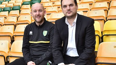 Norwich City sporting director Stuart Webber (right) appointed Steve Weaver as the club's new academ
