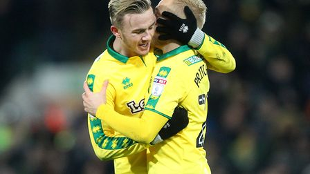 James Maddison and Alex Pritchard will be highly sought after this January. Picture: Paul Chesterton